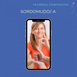 Spanish teacher sordomudo