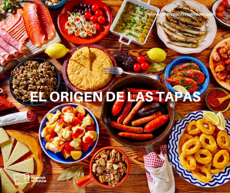 sabes cual origen tapas aprende cultura espanola